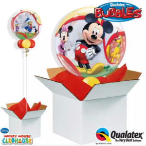 We Like To Party Mickey Mouse Bubble Balloon In A Box