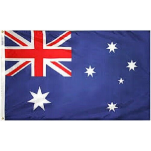 We Like To Party Australian Flag 75cm x 150m