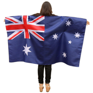 We Like To Party Australian Flag Cape