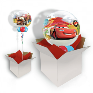 We Like To Party Disney Cars Bubble Balloon In A Box