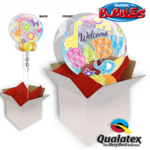 We Like To Party Welcome Baby Bubble Balloon In A Box
