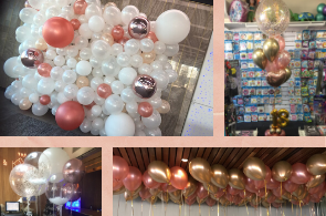 We Like To Party Balloon Decor