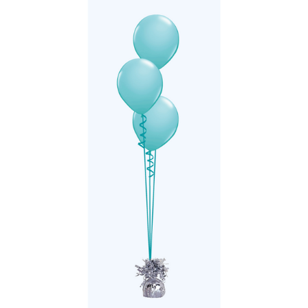 We Like To Party Floor Balloon Bouquet of Three with Hifloat