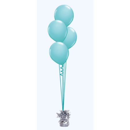 We Like To Party Floor Balloon Bouquet of Four with Hifloat