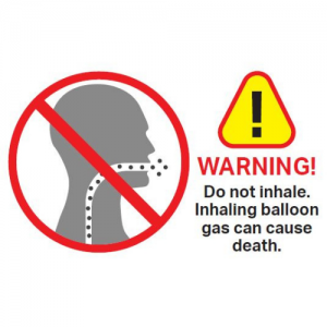 We Like To Party Do Not Inhale Helium Poster