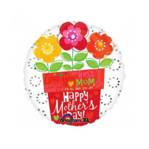 """We Like To Party For All That You Do Mom 18"""" (45cm) Foil Balloon"""