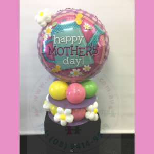 We Like To Party Mother's Day Balloon Table Centerpiece