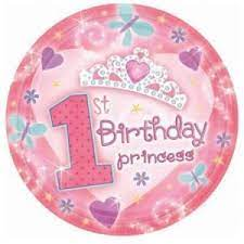 """We Like To Party First Birthday Princess 18"""" (45cm) Foil Balloon"""