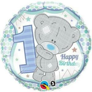 We Like To Party Tatty Teddy 1st Birthday Blue 18″ (45cm) Foil Balloon