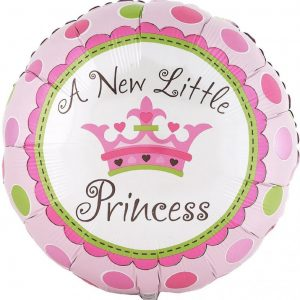 We Like To Party A New Little Princess 18″ (45cm) Foil Balloon