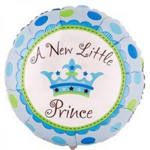 We Like To Party A New Little Prince 18″ (45cm) Foil Balloon