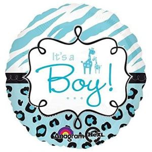 We Like To Party Safari Baby Boy 18″ (45cm) Foil Balloon