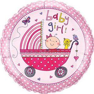 We Like To Party Rachel Ellen Baby Girl Stroller 18″ (45cm) Foil Balloon